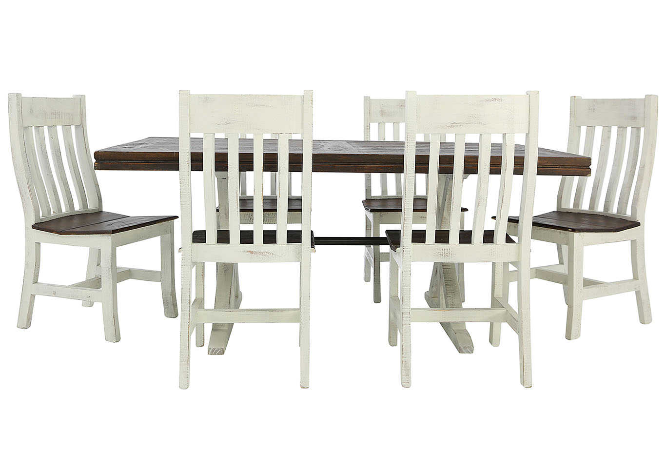 KARA RUSTIC DINING TABLEVINTAGE FURNITURE LLC