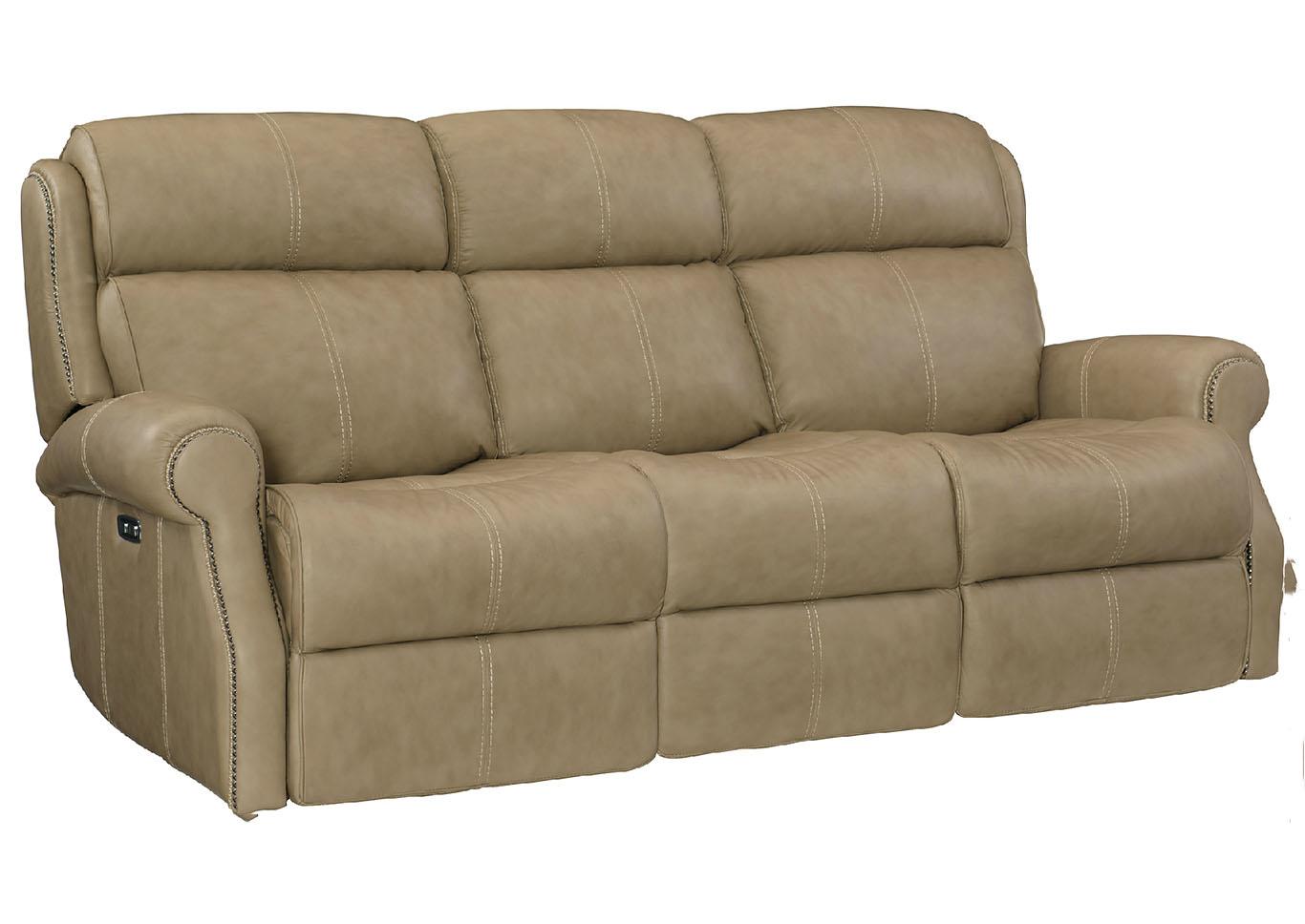 Pleasing Ivan Smith Mcgwire Malt Power Reclining Sofa Short Links Chair Design For Home Short Linksinfo
