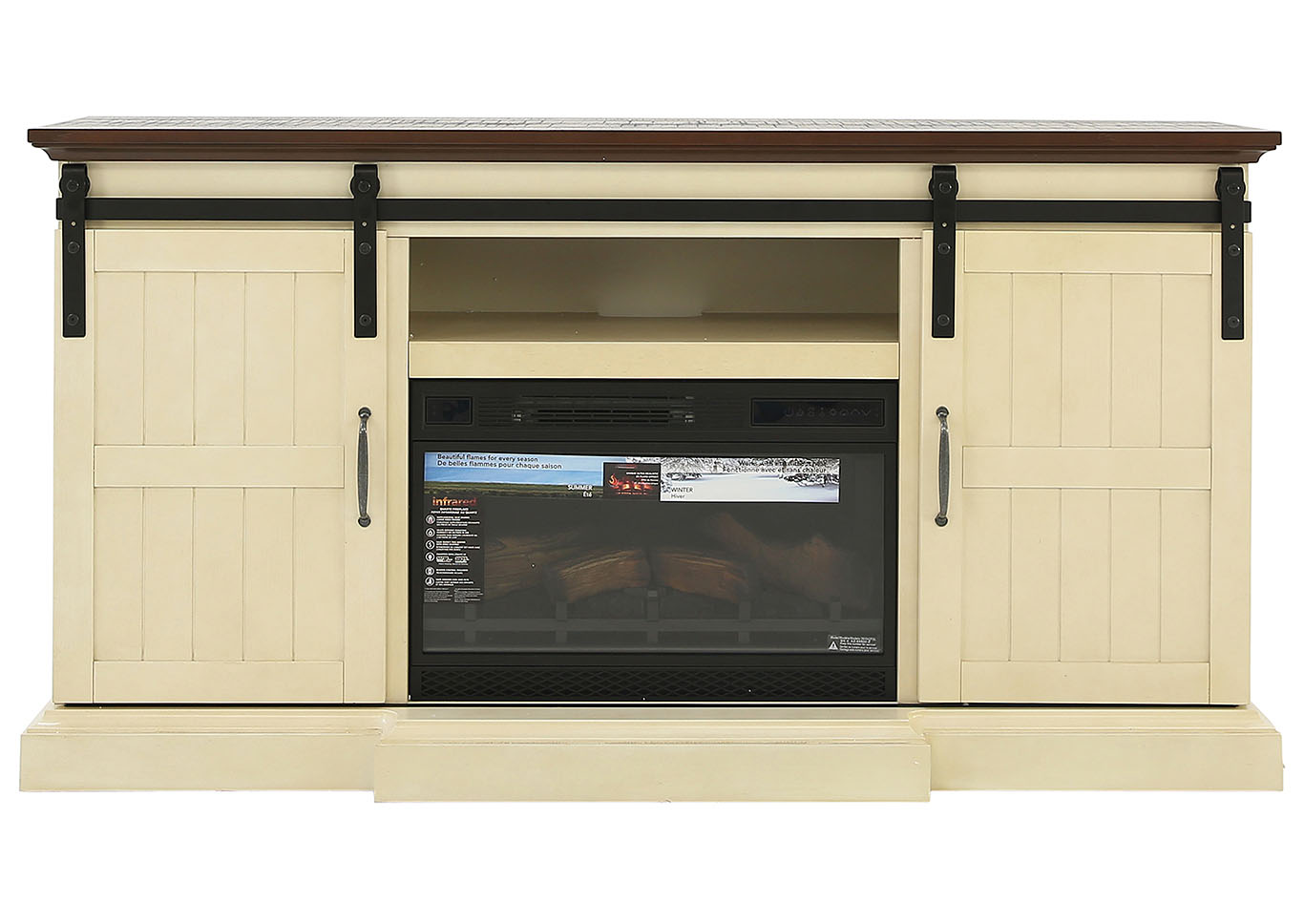 HOGAN FIREPLACE WITH INSERT,TWIN-STAR INTERNATIONAL