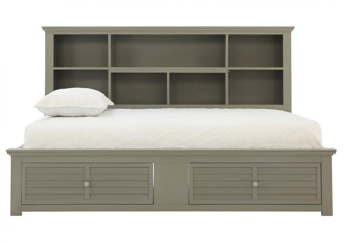 Ivan Smith Spencer Grey Full Daybed With Storage
