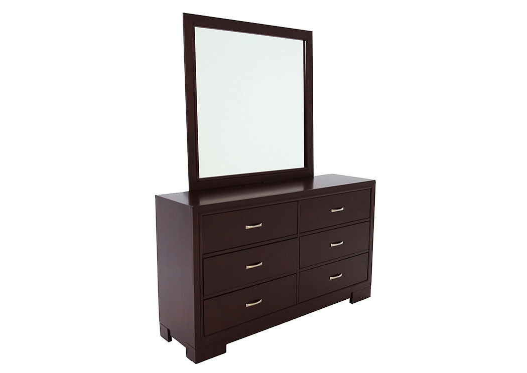 WEBSTER DRESSER AND MIRROR,LIFESTYLE FURNITURE
