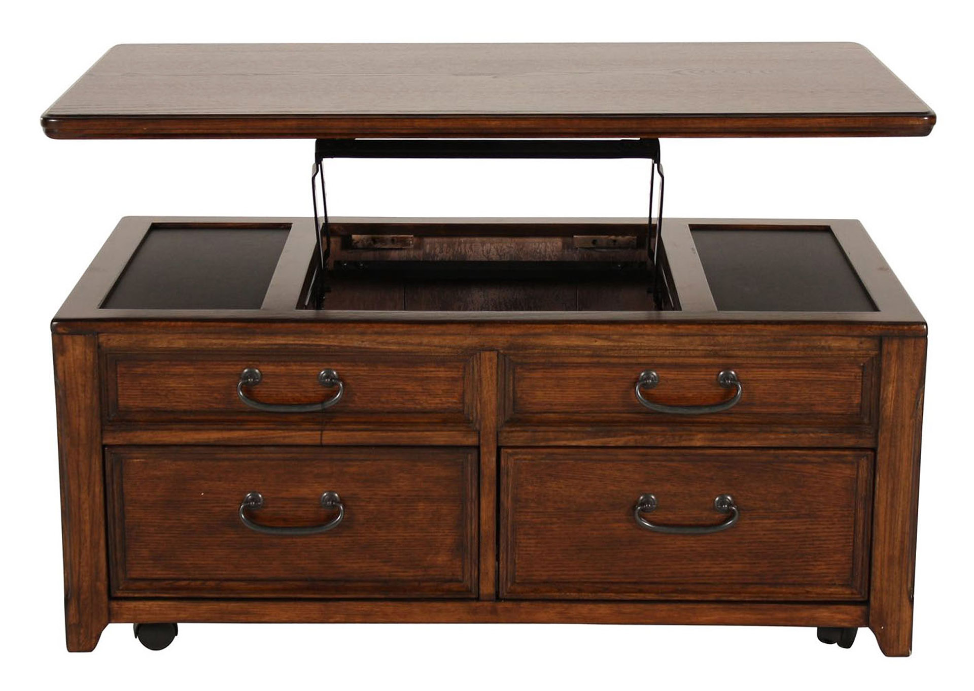 WOODBORO LIFT TOP COCKTAIL TABLE,ASHLEY FURNITURE INC.