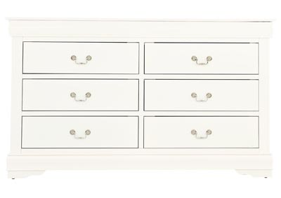 LOUIS PHILIP WHITE DRESSER