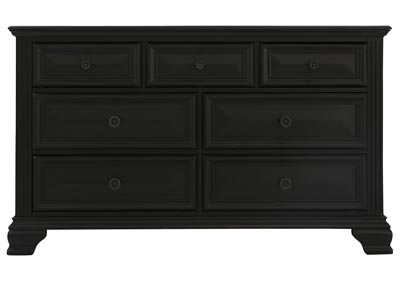 PASSAGES VINTAGE BLACK DRESSER