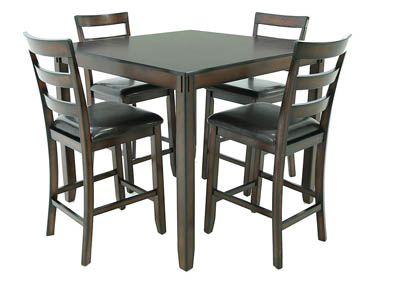 COVIAR 5 PIECE PUB DINING SET
