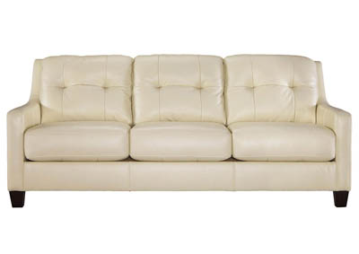 O KEAN GALAXY LEATHER/LEATHER MATCH SOFA