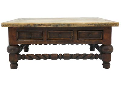 Image for ELLIS OLD WORLD COCKTAIL TABLE