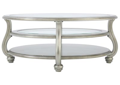 CORALAYNE OVAL COCKTAIL TABLE