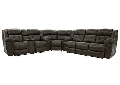 HAYGEN ESPRESSO 3 PIECE POWER SECTIONAL