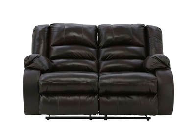 LEVELLAND CAFE LEATHER RECLINING LOVESEAT