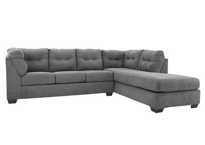 MAIER CHARCOAL 2 PIECE SECTIONAL WITH SLEEPER