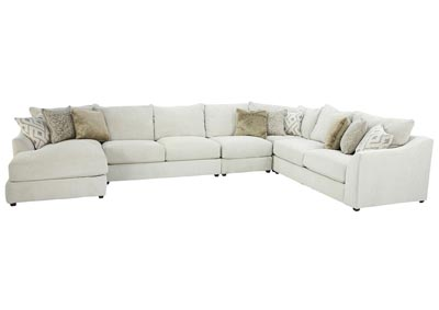 Image for KYRA RICE 5 PIECE SECTIONAL