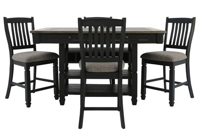TYLER CREEK 5 PIECE PUB DINING SET