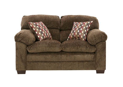 Image for HARLOW CHESTNUT LOVESEAT