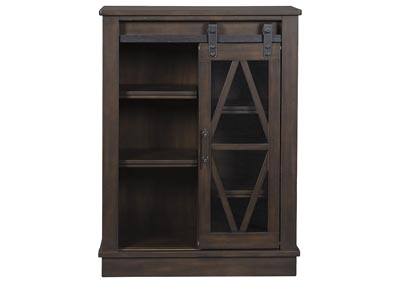 Image for BRONFIELD BROWN ACCENT CABINET