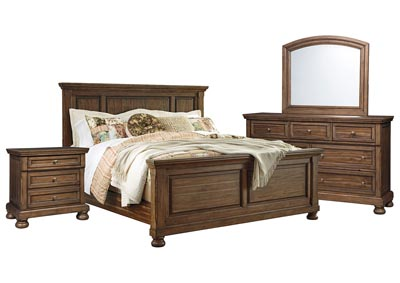 FLYNNTER QUEEN PANEL BEDROOM SET