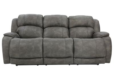 MAXWELL GREY RECLINING SOFA