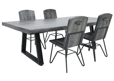 MORO 5 PIECE DINING SET