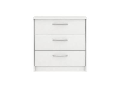 Image for FINCH WHITE 3 DRAWER CHEST