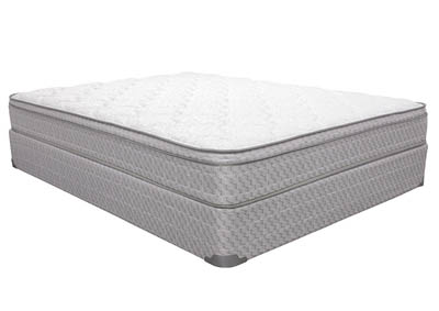 IRIS EURO-TOP FULL MATTRESS SET