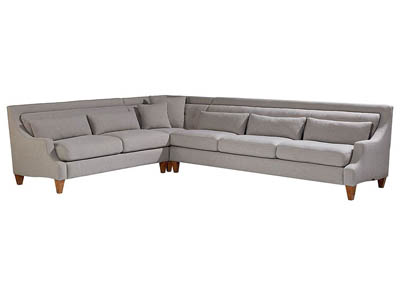 CHISEL FLANNEL 3PC SECTIONAL