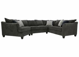 ABIGAIL PEWTER 3 PIECE SECTIONAL