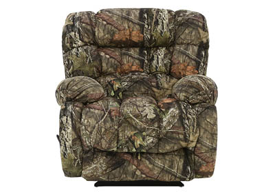 PLUSHER CAMO ROCKER RECLINER
