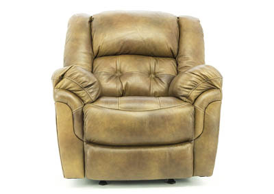 HUDSON SADDLE LEATHER POWER RECLINER