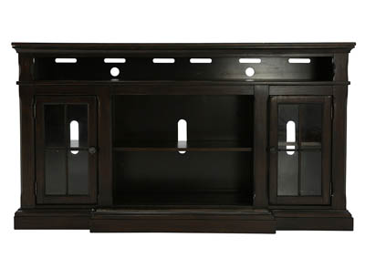 RODDINTON EXTRA LARGE TV STAND WITH FIREPLACE OPTION