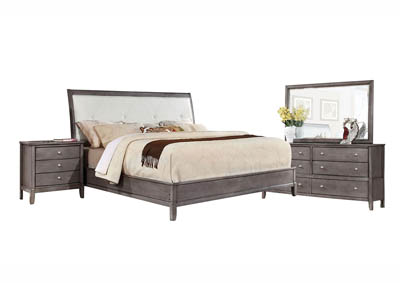 OLIVER GREY FULL BEDROOM SET