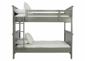 SPENCER GREY TWIN/TWIN BUNKBED