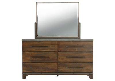 FORGE DRESSER AND MIRROR