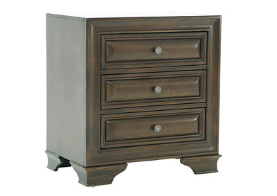 REMINGTON DARK CHERRY NIGHTSTAND,LIFESTYLE FURNITURE