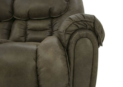 BAXTER MOCHA RECLINING SOFA,HOME STRETCH
