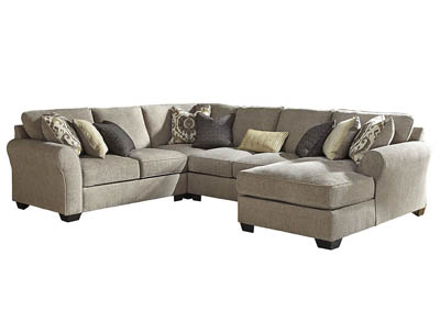 PANTOMINE DRIFTWOOD 4 PIECE SECTIONAL