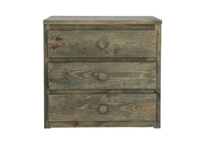 Image for SILAS MOSSY OAK 3 DRAWER CHEST