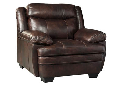 HANNALORE CAFE LEATHER/LEATHER MATCH CHAIR