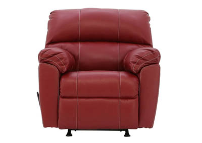 AUSTIN RED ROCKER RECLINER