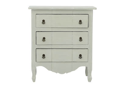 MARGAUX LIGHT GRAY ACCENT TABLE