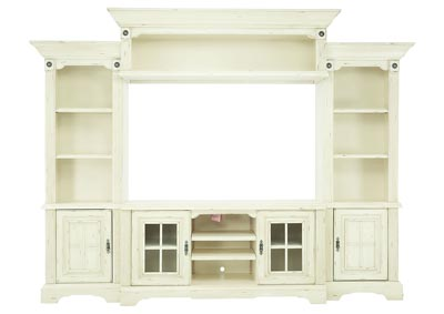 HIGHLAND MANOR 4 PC WALL UNIT