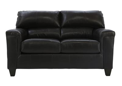 Image for EMILIA BARK TOP GRAIN LEATHER LOVESEAT