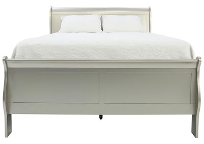 LOUIS PHILIP CHAMPAGNE QUEEN BED
