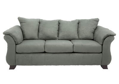 HANNAH SENSATIONS GREY QUEEN SLEEPER SOFA