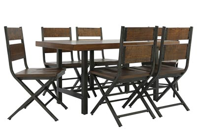 KAVARA 7 PIECE DINING SET