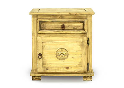 HONEY TEXAS STAR NIGHTSTAND