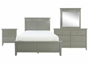 SPENCER GREY TWIN BEDROOM SET