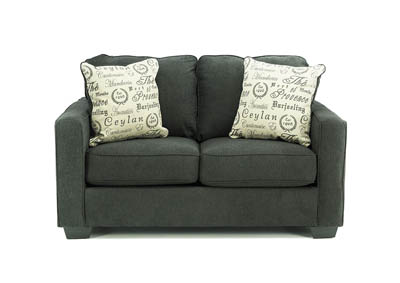 Image for ALENYA CHARCOAL LOVESEAT