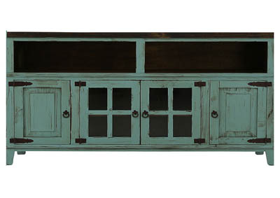 Image for LAWMAN TURQUOISE MEDIA CONSOLE