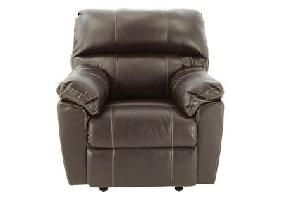 AUSTIN CHOCOLATE ROCKER RECLINER