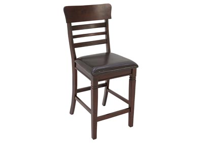 BLAINE DARK CHERRY 5 PIECE PUB SET,LIFESTYLE FURNITURE